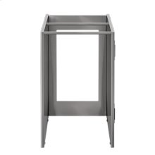 """OUTDOOR KITCHEN CABINETS IN STAINLESS STEEL  PURE 18"""" Appliance Cabinet"""