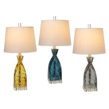 (144809) 3 ea Lamp with Bulb. (2 pc. assortment)