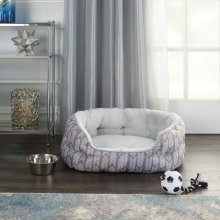 "Pet Beds Na359 27"" X 20"" X 10"" Grey Pet Bed"