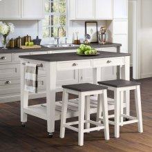 Kayla Kitchen Cart DKY300KTC