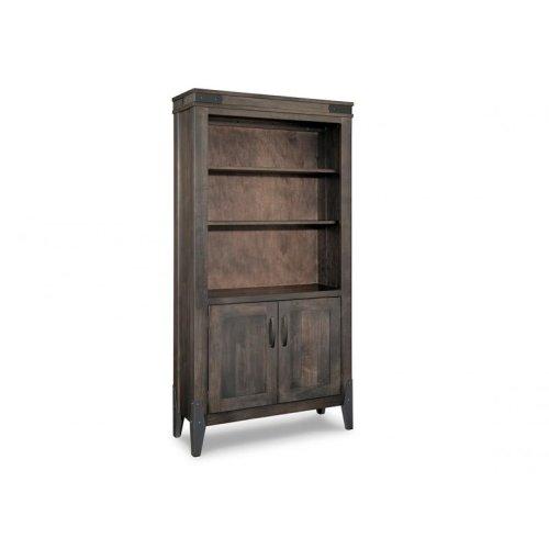 Chattanooga Bookcase w/3 Adjustable Shelves w/Doors