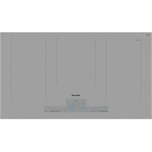 36-Inch Liberty Induction Cooktop, Titanium Gray, Frameless