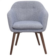 Minto Accent & Dining Chair in Grey Blend