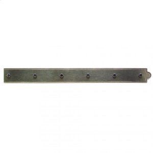 "Ornamental Hinge Strap - 24"" Silicon Bronze Brushed Product Image"