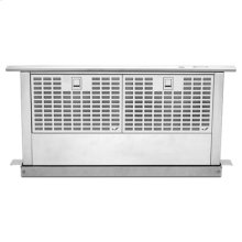 "Euro-Style Stainless 36"" Telescoping Downdraft Ventilation"