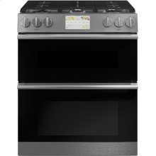 "Café 30"" Smart Slide-In, Front-Control, Dual-Fuel, Double-Oven Range with Convection"