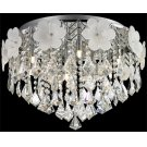 Flush Mount, Chrome/flower/crystals, Type Jcd/g9 40wx8 Product Image