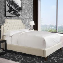 Jasmine Champagne (Natural) Upholstered Bed Collection