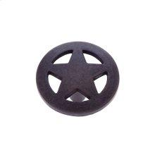 "Oil Rubbed Bronze 1-1/2"" Medium Star Knob"