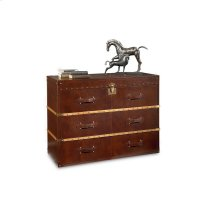 Saratoga Leather Console