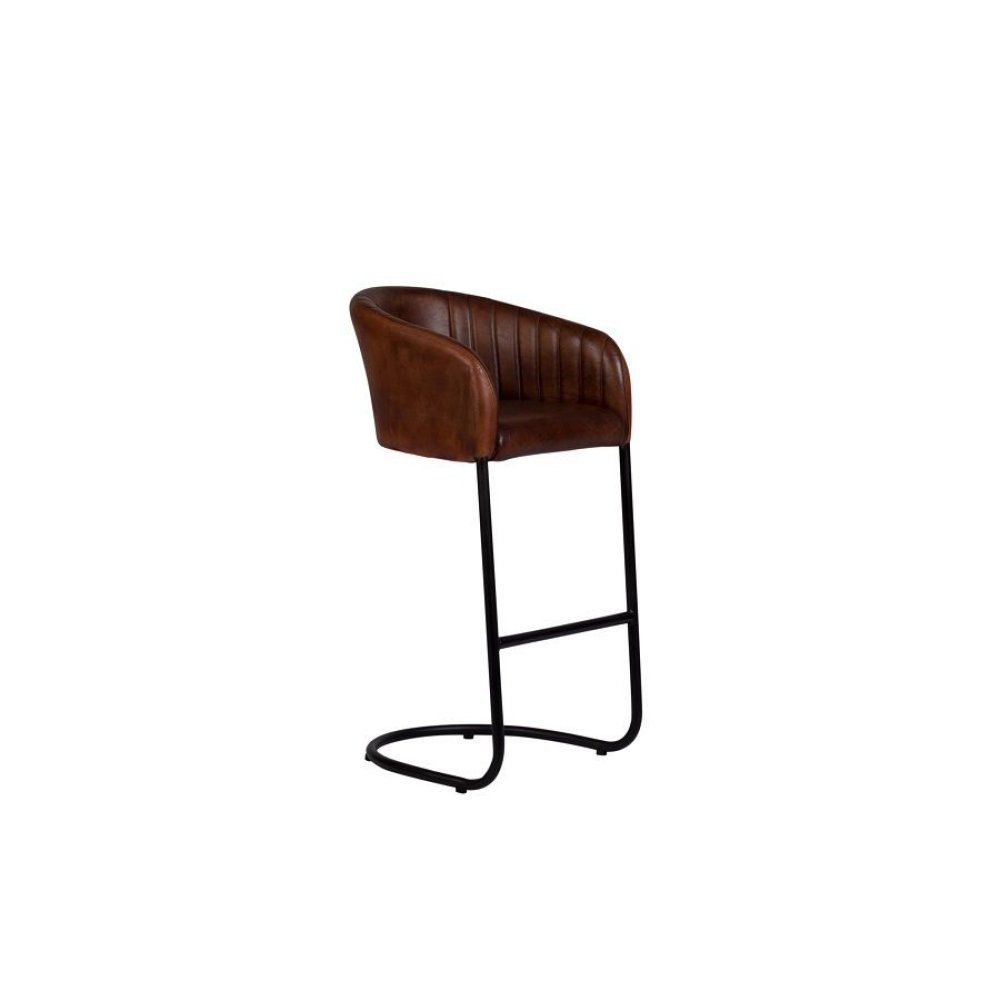 Dexter Cognac Leather Barstool, 2336