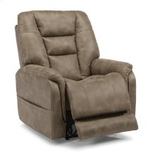 Pete Fabric Power Recliner with Power Headrest