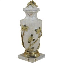 DECADENT LIDDED VASE