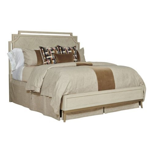 Royce Cal King Bed - Complete