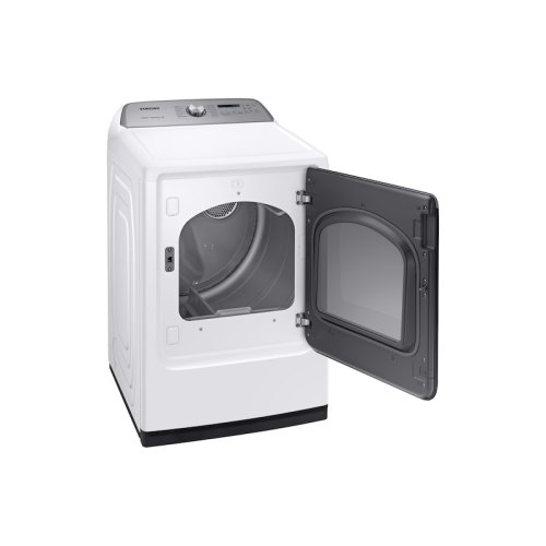 DV7600 7.4 cu. ft. Electric Dryer with Steam Sanitize+ in White