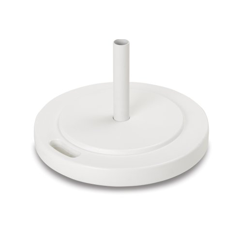 """Umbrella Base & Accessories 21"""" Round Stacking Weighted Base w/ Handle"""