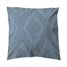 "Cadence Tonal Diamond Square Pillow (22"" x 22"") - Oatmeal"