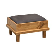 Cushioned Footstool