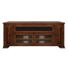 Espresso Finish Wood Home Entertainment Cabinet