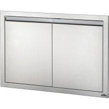 "36"" X 24"" Large Double Door , Stainless Steel"