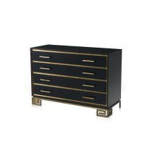 Inky Fascinate Chest - Black
