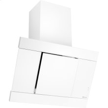 "Glass Collection Perimetric Hood, 32"", Floating Glass White"