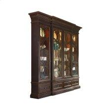 East Hampton Display Cabinet with Glass Doors