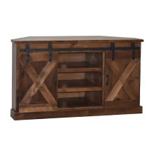 "Farmhouse 56"" Corner TV Console"