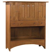 No Door Storage On Bottom, Cherry Harvey Ellis Fall Front Desk