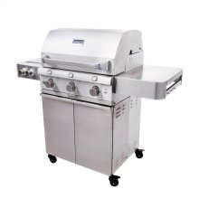 Stainless Steel 3-Burner Gas Grill