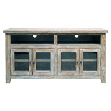 Agave TV Stand/glass Doors