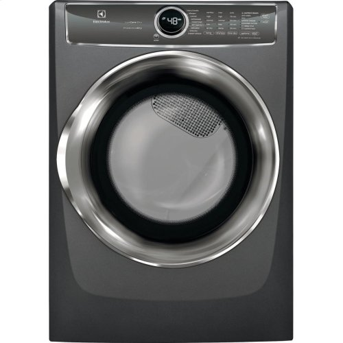 Front Load Perfect Steam Gas Dryer with PredictiveDry and Instant Refresh - 8.0. Cu. Ft.