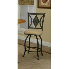 "Sunset Trading 24"" Dart Swivel Stool - Sunset Trading"