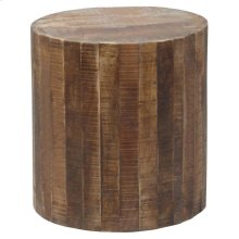 Round Stool with Casters