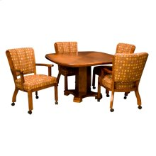 Armless Caster Chair