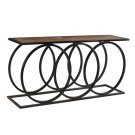 Bengal Manor 3 Metal Circles Console Table Product Image