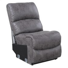 Armless Chair-pu Charcoal