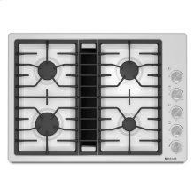 """Jenn-Air® 30"""" JX3™ Gas Downdraft Cooktop - White"""