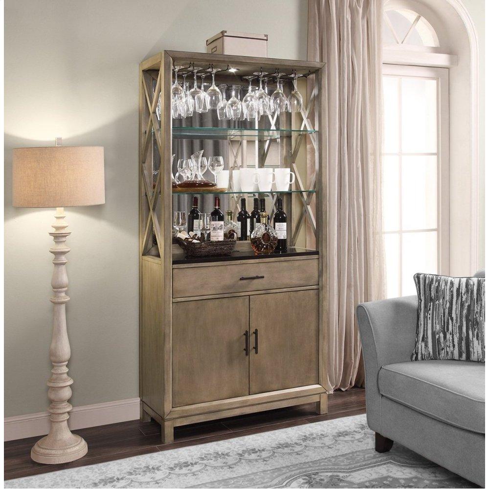 MIDTOWN Bunching Bookcase Bar