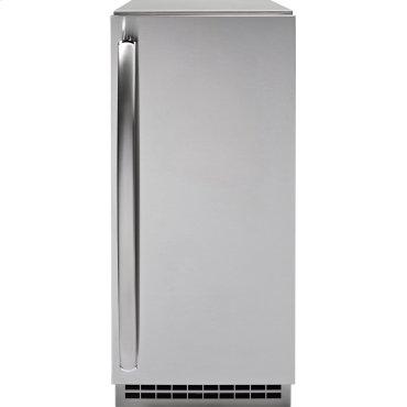 GE Profile Series Stainless Steel Ice Maker Door Kit (door panel and handle only)