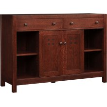 48 Wide, Oak Highlands Entertainment Console