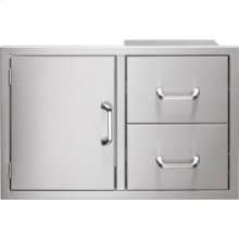 Door/Drawer Combo