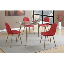 F1743 / Cat.19.p67- CHAIR RED MW F2457 RED