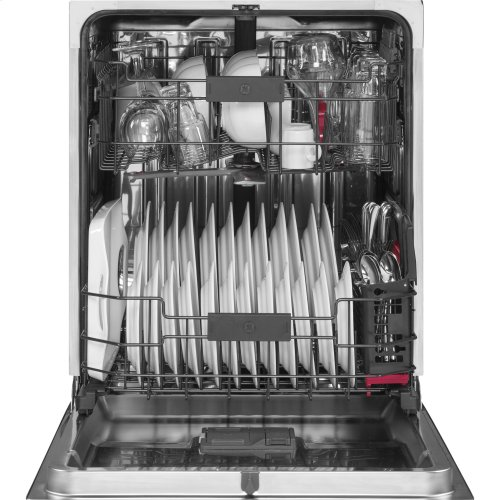 GE Profile™ Stainless Steel Interior Dishwasher with Hidden Controls - Floor Model