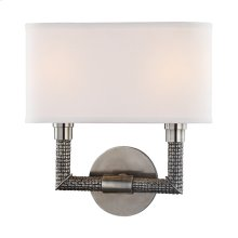 Wall Sconce - HISTORIC NICKEL