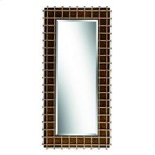 Cross Channel Floor Mirror