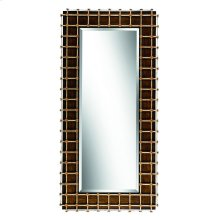 Cross Channel Floor Mirror