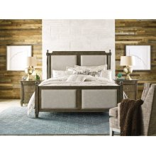 Sunderland Cal King Upholstered Bed - Complete