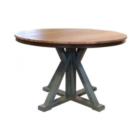 "51"" Round Dining Table Top w/Iron skirt"