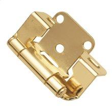 Semi-Concealed Cabinet Hinge (2-Pack)